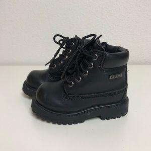 Toddler Black Combat Boots
